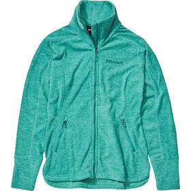 Marmot Pisgah Polaire Femme, deep jungle